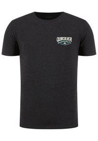 Quiksilver T-Shirt Words Remain EQYZT05772 Szary Modern Fit. Kolor: szary