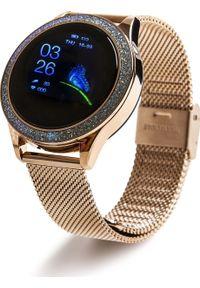 oromed - Smartwatch Oromed Oro Smart Crystal Złoty (ORO_SMART_CRYSTAL_GOLD). Rodzaj zegarka: smartwatch. Kolor: złoty