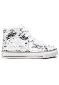 Primigi - Sneakersy PRIMIGI - 7457877 Bian. Kolor: biały. Materiał: materiał. Szerokość cholewki: normalna