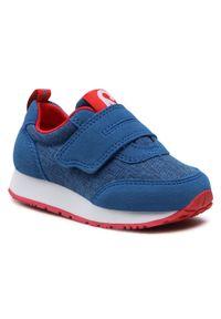Reima - Sneakersy REIMA - Evaste 569428 6500. Okazja: na co dzień. Zapięcie: rzepy. Kolor: niebieski. Materiał: materiał. Szerokość cholewki: normalna. Styl: casual
