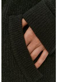 Pieces - Kardigan. Okazja: na co dzień. Kolor: czarny. Długość rękawa: długi rękaw. Długość: długie. Styl: casual
