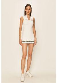 Biała sukienka Ellesse bez rękawów, prosta