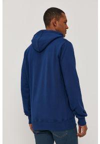Prosto. - Prosto - Bluza. Okazja: na co dzień. Kolor: niebieski. Wzór: nadruk. Styl: casual