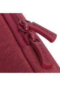 Czerwone etui na laptopa RIVACASE młodzieżowe