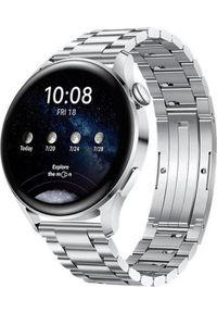 HUAWEI - Smartwatch Huawei Watch 3 Elite Srebrny (891280039). Rodzaj zegarka: smartwatch. Kolor: srebrny
