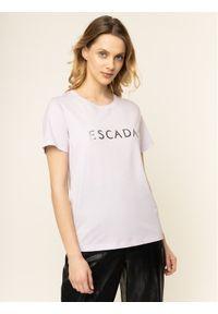 Różowy t-shirt Escada Sport sportowy