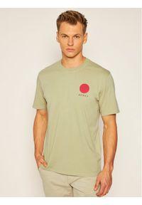 Zielony t-shirt Edwin