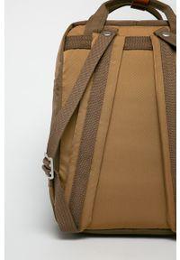 Doughnut - Plecak Macaroon. Kolor: brązowy. Wzór: paski