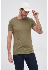 Polo Ralph Lauren - T-shirt bawełniany (3-pack). Okazja: na co dzień. Typ kołnierza: polo. Materiał: bawełna. Wzór: gładki, aplikacja. Styl: casual