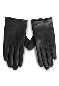 Czarne rękawiczki Kazar