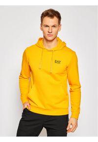 EA7 Emporio Armani Bluza 8NPM04 PJ05Z 1604 Żółty Regular Fit. Kolor: żółty