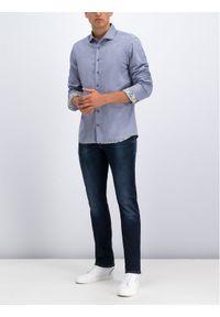Baldessarini Koszula 41238/000/4965 Granatowy Regular Fit. Kolor: niebieski