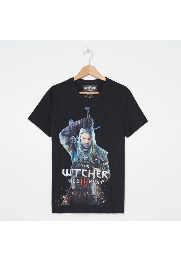 Czarny t-shirt House