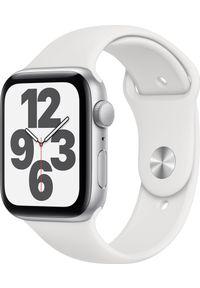 APPLE - Smartwatch Apple Watch SE GPS 44mm Silver Alu White Sport Biały (MYDQ2EL/A). Rodzaj zegarka: smartwatch. Kolor: biały. Styl: sportowy