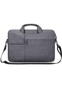 "TECH-PROTECT - Tech-Protect Pocketbag 14"" dark grey. Materiał: materiał"