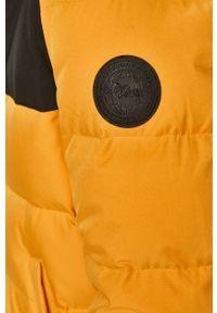 Żółta kurtka s.Oliver casualowa, z kapturem