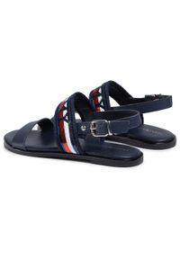 Niebieskie sandały TOMMY HILFIGER sportowe, na co dzień