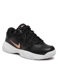 Czarne buty do tenisa Nike Nike Court