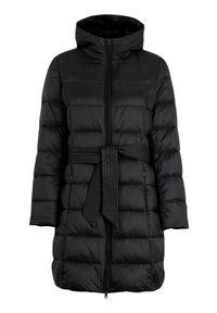 Czarna kurtka Freequent długa, na jesień