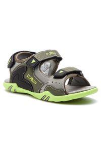 Zielone sandały CMP na lato