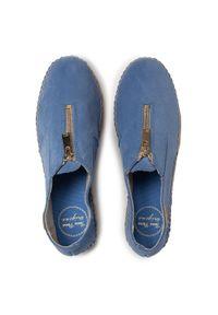 Niebieskie półbuty Toni Pons casualowe, na co dzień