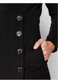 Pinko Sukienka koktajlowa Adler 1G16TV 1739 Czarny Regular Fit. Kolor: czarny. Styl: wizytowy