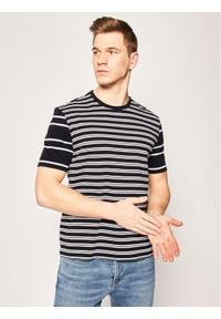 BOSS - Boss T-Shirt Tiburt 158 50424127 Granatowy Regular Fit. Kolor: niebieski