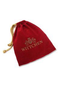 Wittchen - Męski pasek ze skóry licowej i bawełnianej plecionki. Kolor: beżowy. Materiał: bawełna. Wzór: kolorowy. Styl: casual, klasyczny, elegancki
