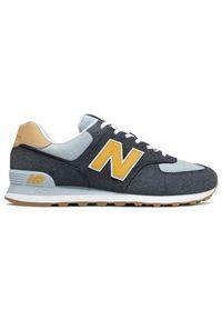 New Balance ML574NA2. Materiał: zamsz, materiał. Szerokość cholewki: normalna. Model: New Balance 574. Sport: turystyka piesza