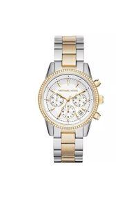 Michael Kors - MICHAEL KORS ZEGAREK RITZ MK6474. Rodzaj zegarka: analogowe. Materiał: materiał. Styl: klasyczny, elegancki