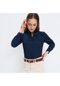 Niebieska koszula Mohito klasyczna