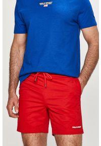 Czerwone szorty Polo Ralph Lauren na co dzień, casualowe, gładkie