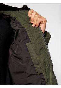 Zielona kurtka puchowa Tommy Jeans na co dzień, casualowa