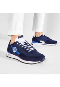 North Sails - Sneakersy NORTH SAILS - RH/01 Recy -054 Navy. Kolor: niebieski. Materiał: materiał, zamsz, skóra. Szerokość cholewki: normalna #5