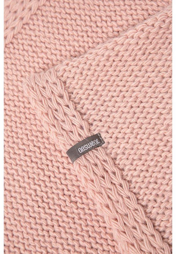 Różowa czapka ANSWEAR