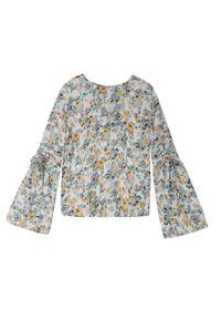 Kremowa bluzka TROLL na co dzień, na zimę #8