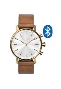 Kronaby Połączony wodoodporny zegarek Carat A1000-0717. Styl: retro