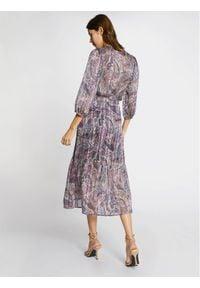 Morgan Spódnica plisowana 211-JIRIL Fioletowy Regular Fit. Kolor: fioletowy #3