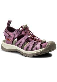 Fioletowe sandały trekkingowe keen