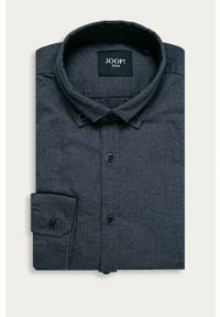 Niebieska koszula JOOP! na co dzień, casualowa, z długim rękawem