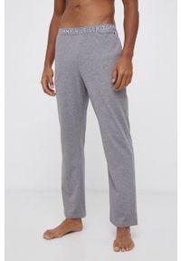 TOMMY HILFIGER - Tommy Hilfiger - Spodnie piżamowe. Kolor: szary. Materiał: bawełna, dzianina. Wzór: gładki