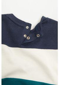 Niebieska bluza Mango Kids krótka, na co dzień, casualowa