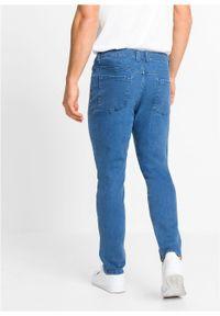 """Dżinsy ze stretchem Regular Fit Tapered z bawełny organicznej bonprix niebieski """"stone"""". Kolor: niebieski"""