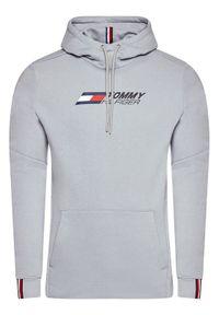 TOMMY HILFIGER - Tommy Hilfiger Bluza Logo MW0MW17255 Szary Relaxed Fit. Kolor: szary
