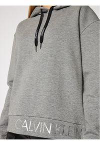 Calvin Klein Bluza Ls Calvin Logo Hoody K20K202389 Szary Relaxed Fit. Kolor: szary