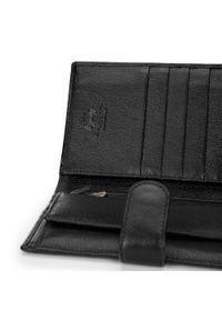 Wittchen - Męski portfel skórzany z dużą ilością przegródek. Materiał: skóra