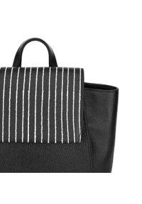 Wittchen - Plecak damski. Kolor: czarny. Materiał: skóra. Styl: klasyczny, etno, rockowy