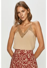 Bluzka Vero Moda na ramiączkach, casualowa, na co dzień