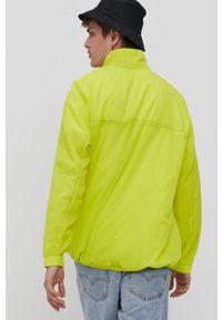 Żółta kurtka adidas Originals bez kaptura, na co dzień