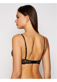 Czarny biustonosz z fiszbinami Calvin Klein Underwear